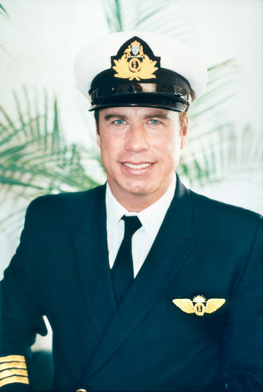 john travolta, portrait